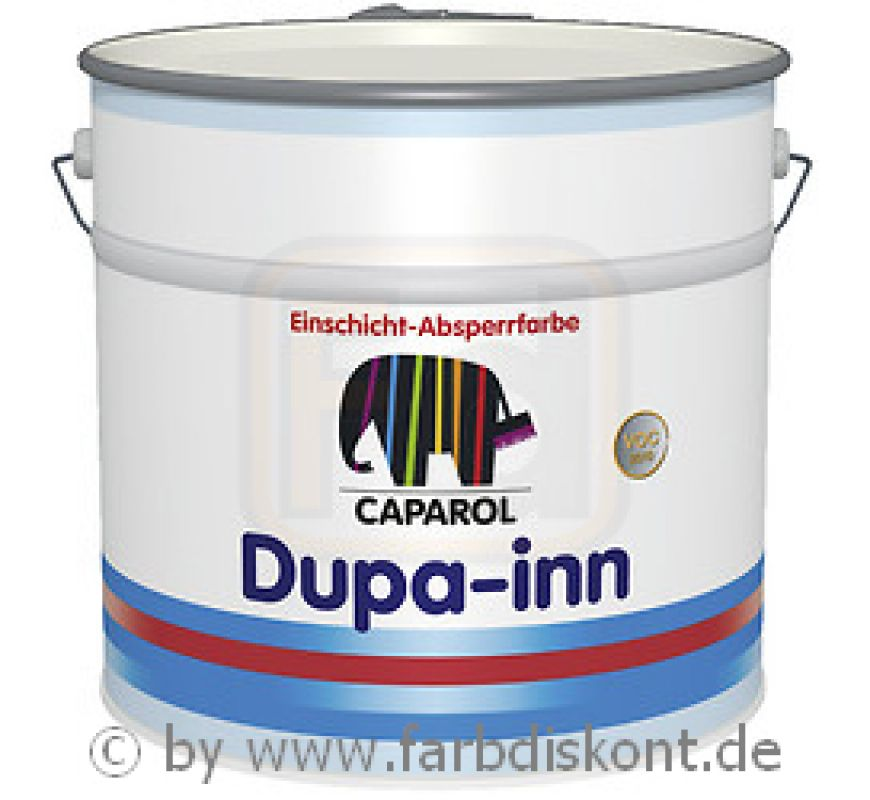 caparol dupa inn no 1 isolierfarbe weiss 12 5 ltr. Black Bedroom Furniture Sets. Home Design Ideas