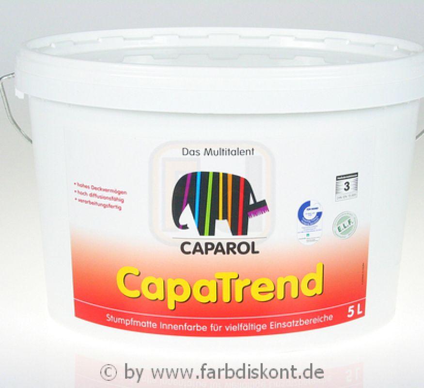 caparol capatrend elf weiss 5 ltr. Black Bedroom Furniture Sets. Home Design Ideas