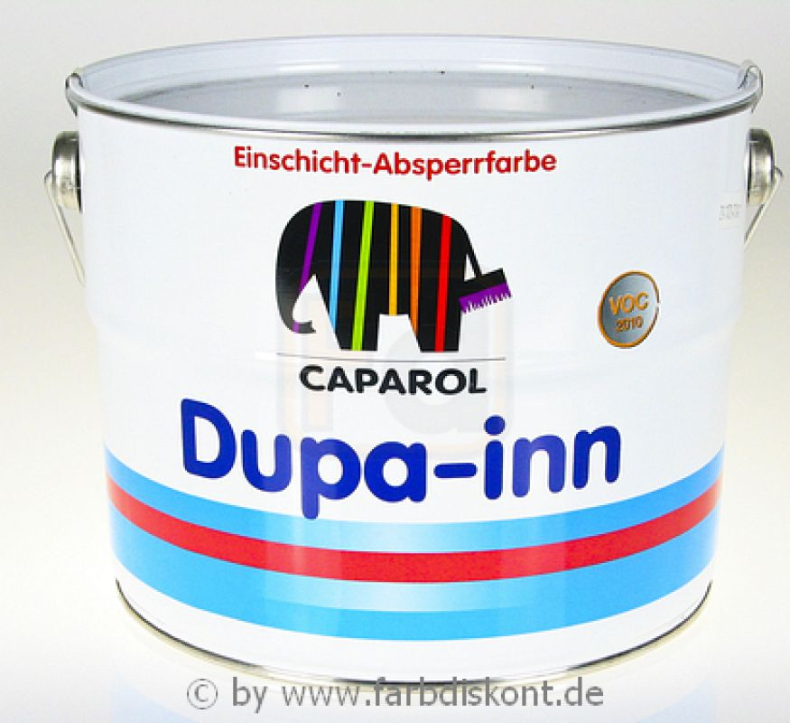 caparol dupa inn no 1 isolierfarbe weiss 5 ltr. Black Bedroom Furniture Sets. Home Design Ideas