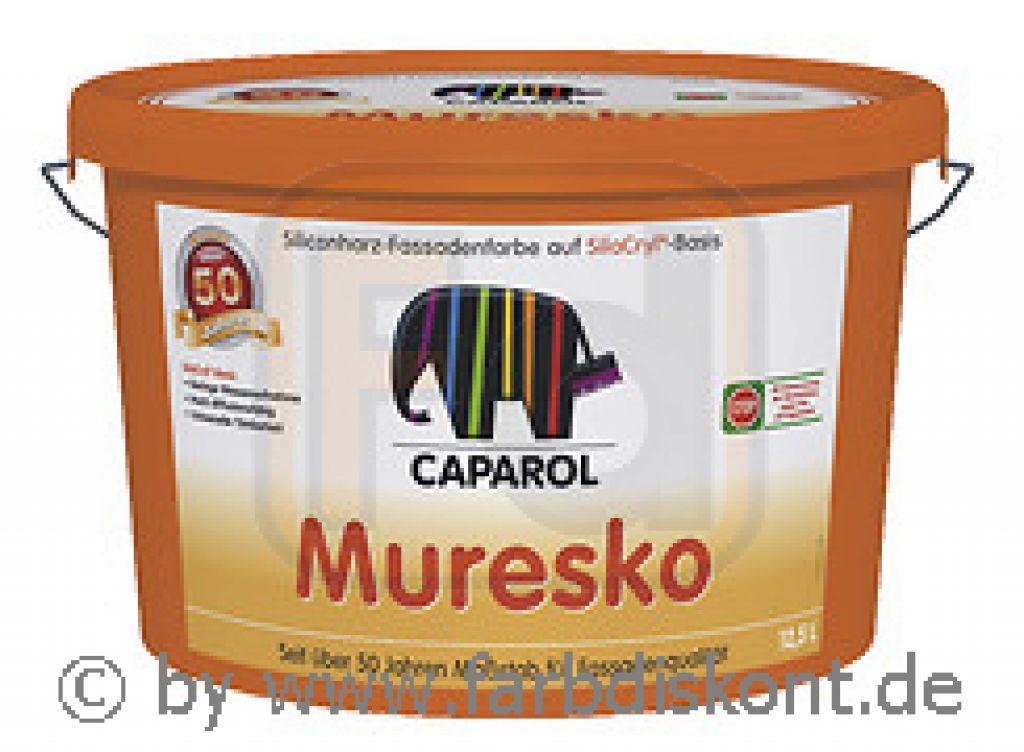 caparol muresko plus weiss 12 5 ltr. Black Bedroom Furniture Sets. Home Design Ideas