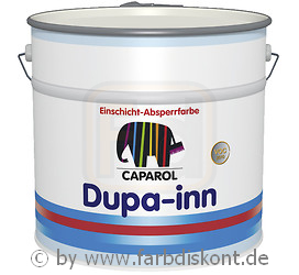 caparol dupa inn nr 1 isolierfarbe 5 liter wei ebay. Black Bedroom Furniture Sets. Home Design Ideas