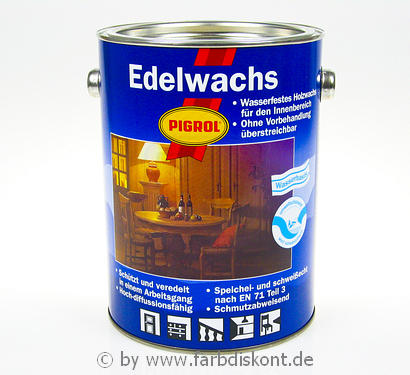 pigrol edelwachs 2 5 ltr 1990 farblos neu ovp ebay. Black Bedroom Furniture Sets. Home Design Ideas