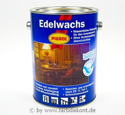 pigrol edelwachs 2 5 ltr 1990 farblos neu ovp ebay. Black Bedroom Furniture Sets. Home Design Ideas
